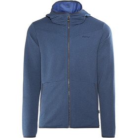 Meru Serres Fleece Hoody Men Lapis Blue